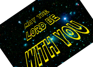 May the Lord be with you icon